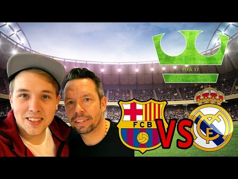 Jirka vs Pavel Horváth - FIFA17 - El Clasico