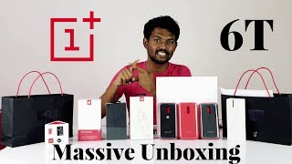 OnePlus 6T Massive  Unboxing And Overview in Tamil