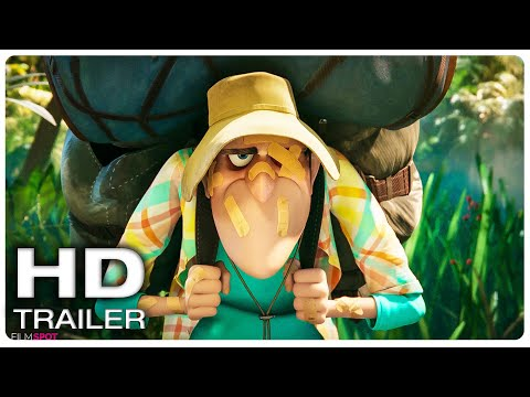 "HOTEL TRANSYLVANIA 4 ""Dracula in Jungle"" Trailer (NEW 2021) Animated Movie HD"