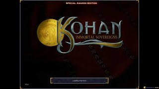 Kohan: Immortal Sovereigns gameplay (PC Game, 2001)