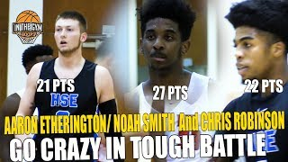 Aaron Etherington and Noah Smith GO NUTS IN THE 4th QTR To Lead HSE  OVER PIKE