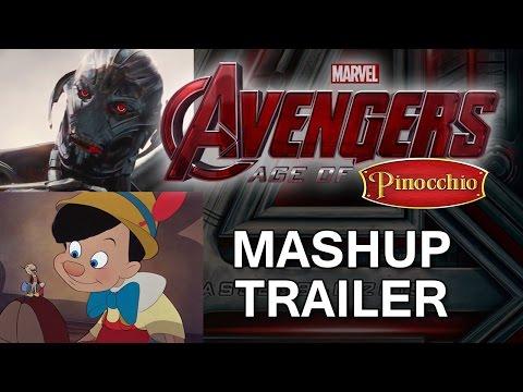 Avengers: Age of Pinocchio (Ultron Mashup Trailer)