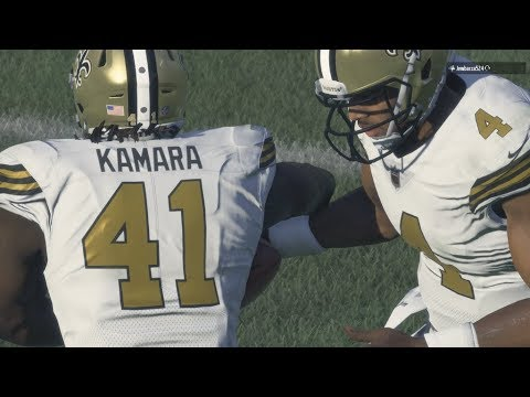 ALL ROOKIE TEAM! Alvin Kamara IS UNTOUCHABLE! - Madden 18 Ultimate Gameplay