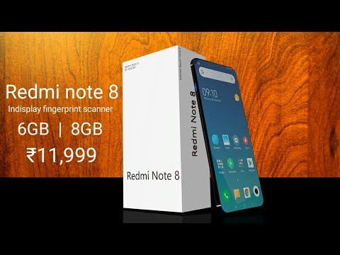 Redmi Note 8 - 62 MP Camera, 5G, Android 9.0 Pie, Price And Specs