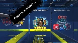 Marvel: Future Fight - Draw Card 5* Package !!!