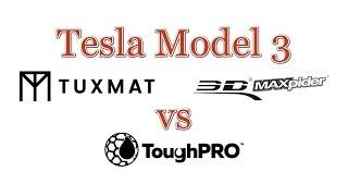 Model 3 TUXMAT vs 3D MAXpider vs ToughPRO All-Weather Floor Mats thumbnail