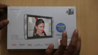 iBall Slide Gorgeo 4GL Voice Calling Tablet Unboxing