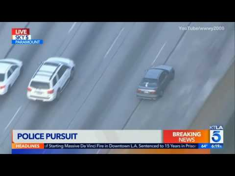 Southern California Police Chase (April 25, 2017) 1.mp4