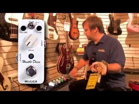 Mooed Micro Guitar Pedal Demonstration & Rocktron Wah Pedal