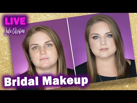 Full Face Bridal Makeup Tutorial with a Wedding Planner Talking about Weddings in Real Time.