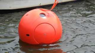 2 Person Tsunami Survival Capsule - Water Stability Trials - Tokyo Bay - August 2013