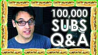 "100,000 Subscribers Q&A!! ""What Should I Do After College?"", Learning Tips, Favourite Projects"