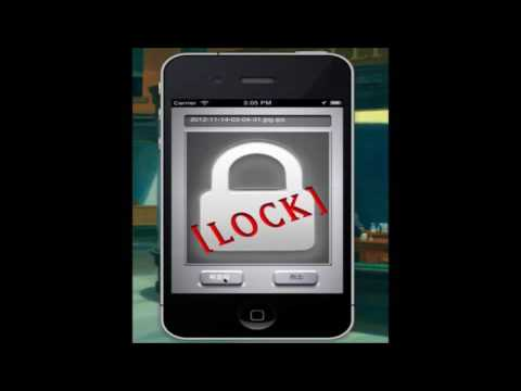 2012년 프로젝트 경진대회 - 최우수상: iPhone Security