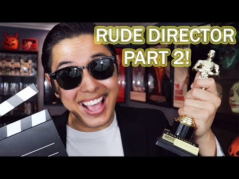[ASMR] Rude Movie Director Role Play 2!