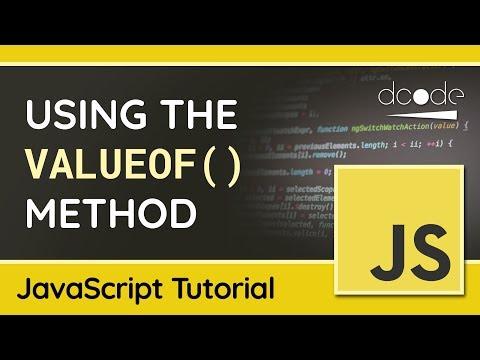 The valueOf() method in JavaScript - Returning Primitive Values thumbnail
