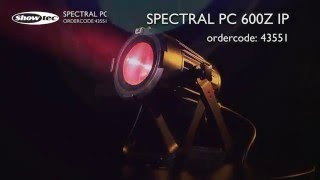 Showtec Spectral PC 600Z IP. Ordercode: 43551.