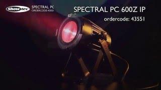 Showtec Spectral PC 600Z IP. Ordercode: 43551.