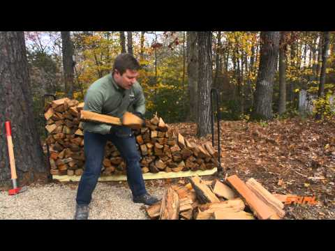 How to Properly Stack Firewood