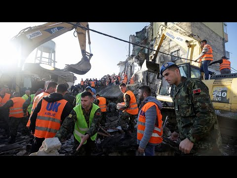 video: Albania earthquake: deadly 6.4 magnitude quake hits near Tirana