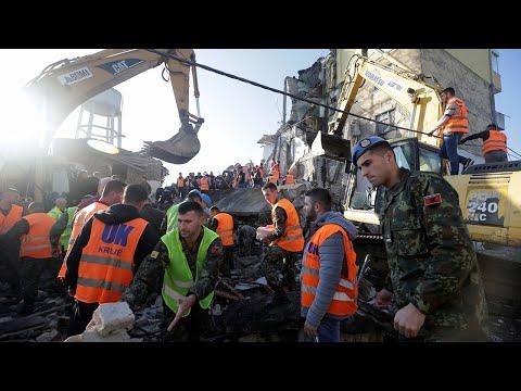 video: Albania earthquake: deadly 6.4 magnitude quake hits near Tirana
