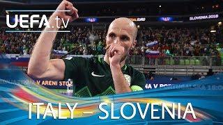 Futsal EURO highlights: Italy v Slovenia