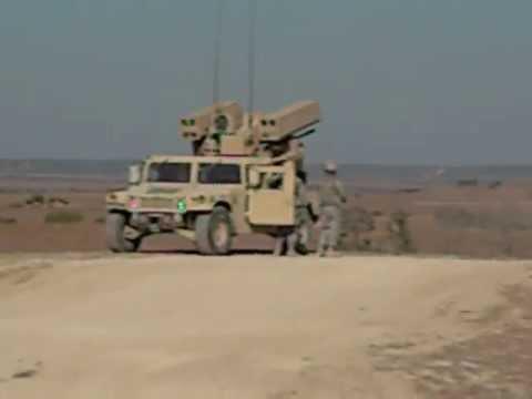 U.S. Army AVENGER M3P .50 Caliber Live Fire