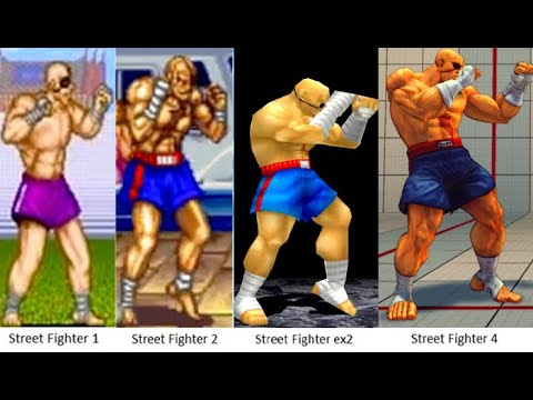 Download Evolution of Sagat Tiger Street Fighter 1991-2017