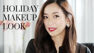 Holiday Glam Makeup Tutorial ft. Pony x Memebox Palette, holiday glam makeup, makeup tutorial, holiday 2015