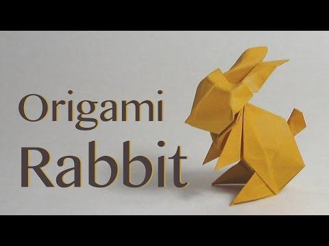 Easter Origami Tutorial Paper Rabbit Bunny Jun Maekawa