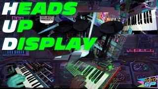 Heads Up Display Original Music Video ( Synthwave Chillwave Vaporwave Retrowave ) - Retro GP