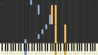 Endless Love 2 (Chong Park) - Synthesia piano tutorial