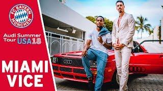 FC Bayern's Miami Vice Starring Sandro Wagner & Renato Sanches