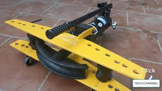 Hydraulic round pipe bending machine 22 - 60 mm