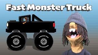 Fast Monster Truck - Fast, Faster, Fastest Truck