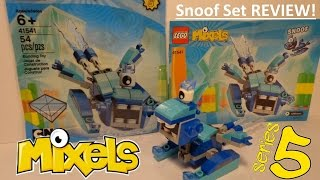 LEGO Mixels Series 5 Snoof Set REVIEW and Time-Lapse!