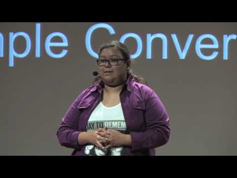 A Simple Conversation | Haide Rafael | TEDxChallengeEarlyCollegeHS