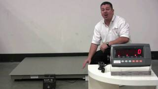 Wireless Floor Scale / Pallet Scale DIGIWEIGH DWP-5500RW- HD