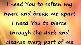 Give Me Faith lyrics video - instrumental