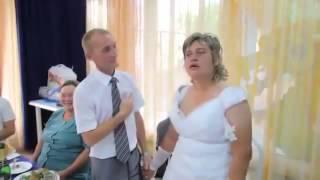 Нереально тупая невеста! Прикол на свадьбе