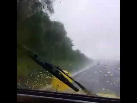 Vw buggy in the rain