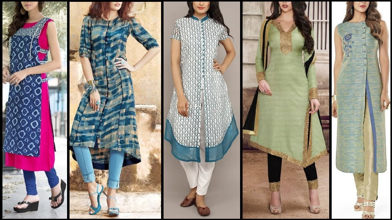 Ladies stylish kurta photos