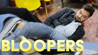 Joe gets hit in the face with Balls | BLOOPERS