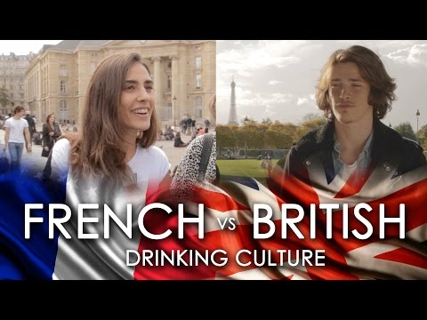French on British Drinking Culture