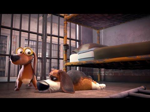 Большой собачий побег — Русский трейлер (2016)