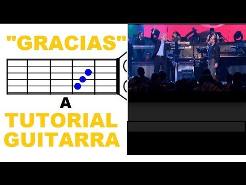 TUTORIAL 'Gracias' - Marcos Witt & Marco Barrientos (Tutorial Guitarra ...