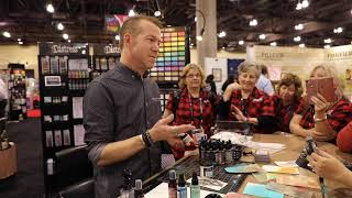 An Hour With Tim Holtz - His New Ranger Releases From Creativation 2019