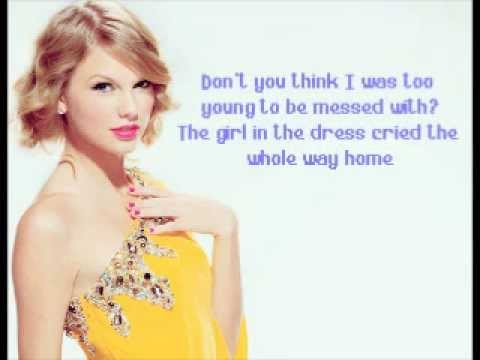 Dear John Taylor Swift Lyric