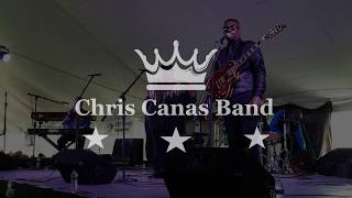 Chris Canas Band: Lover Set Me Free LIVE at the Tawas Blues Festival 2018