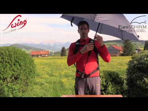 Euroschirm Swing Handsfree Regenschirm