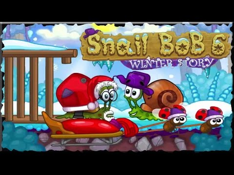 Snail Bob 6 Winter Story Full Game Walkthrough (All Levels)